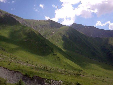 Mountains, Sky, Nature, Clouds, Landscape, Rocks, Dahl