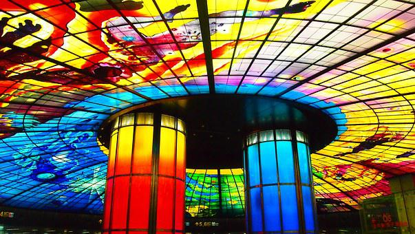 Formosa Station, Taiwan, Color, Beauty, Decoration