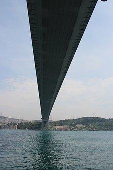 Bridge, Istanbul, Turkey, Bosphorus, Asia, Europe