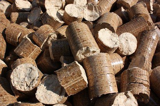 Pellets, Briquettes, Wood, Wuzerl, Heat, Oven, Material