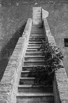Stairs, Gradually, Emergence, Architecture