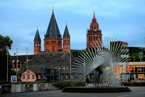 Mainz, City, Building, Places Of Interest, Historically