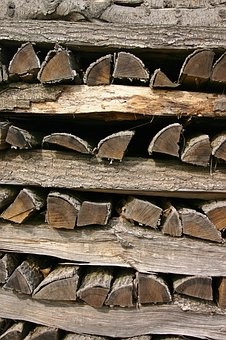 Wood, Holzstapel, Stack, Firewood, Growing Stock