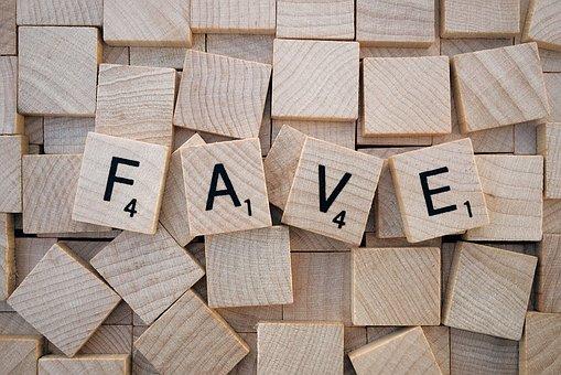 Like, Fave, Social Media, Word, Letters, Scrabble