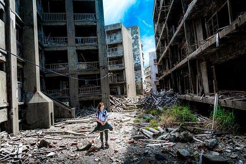 Japan, Island, Nagasaki, Kyushu, Abandoned, Japanese