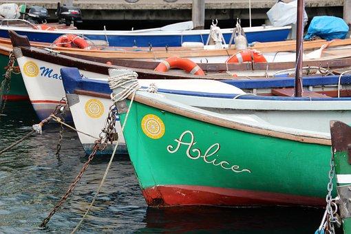 Boats, Ship, Water, Port, Rowing Boat