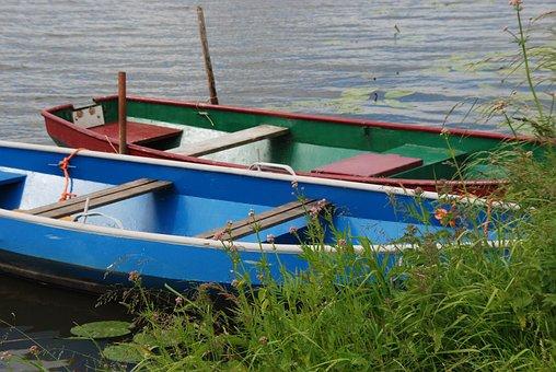 Boat, Sloop, Rowing Boat, Rowing, Boating, Water