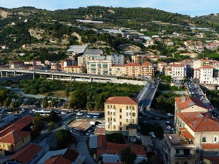 Ventimiglia, City, Homes, North Italy