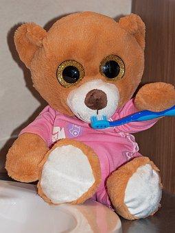 Teddy Bear, Soft Toy, Stuffed Animal, Bear, Bears, Toys