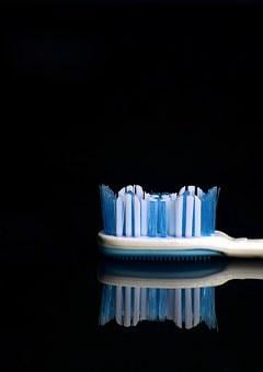 Brush, Studio, Photo, Hygiene, Purity, Blue, White