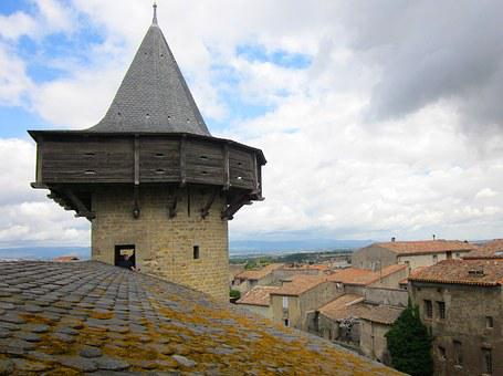 Carcassonne, Aude, Fortress, France, Medieval, Unesco
