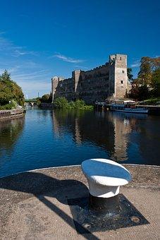 Newark Castle, Castle, Newark, River, River Trent, Old