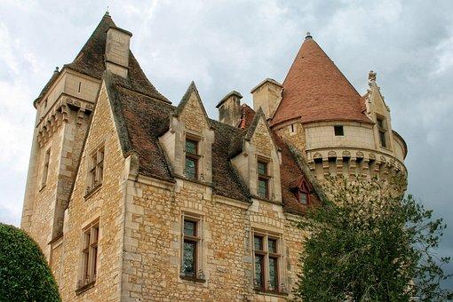 France, Périgord, Dordogne The Milandes, Castle