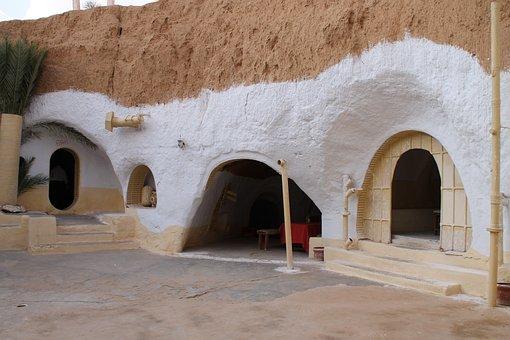 Tunisia, Old, Architecture, Culture, Stone, History
