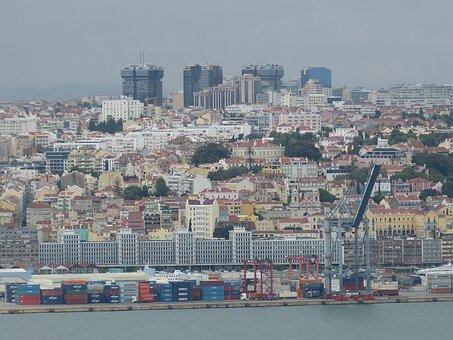 Lisbon, Portugal, Tejo, River, Historically, Port