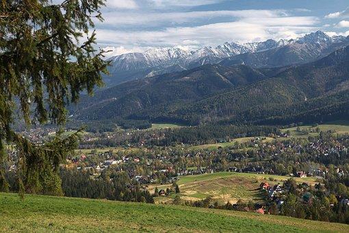 Mountains, Tatry, Polish Tatras, View Of Zakopane