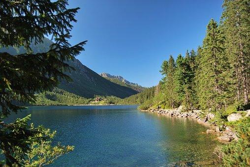 Morskie Oko, Tatry, Polish Tatras, The High Tatras