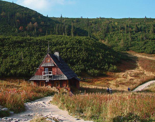 Polish Tatras, Cottage, Old, Youth, Trail, Wooden House