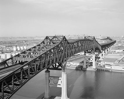 Bridge, Highway, Road, General Pulaski Skyway, Flyover