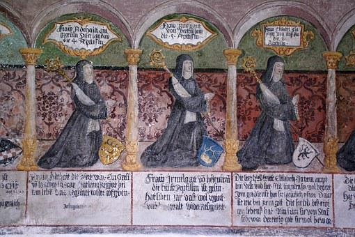 Monastery, Heiligkreuztal, Fresco, Germany, Religious