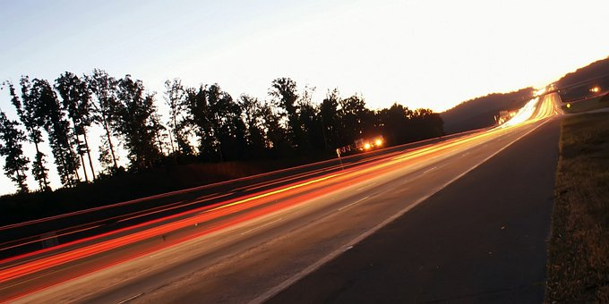 Blurred, City, Cityscape, Exposure, Headlight, Highway