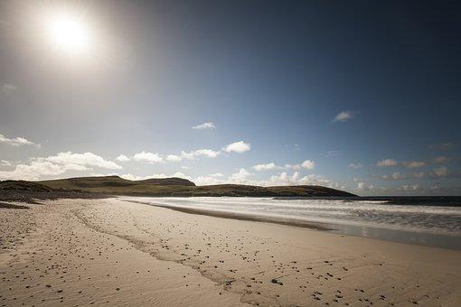 Vatersay, Outer Hebrides, Beach, Sea, Island, Barra