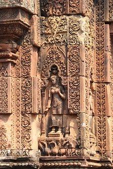 Angkor Wat, Temple, Cambodia, Banteay Srei