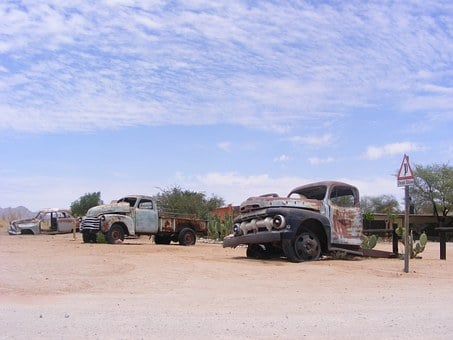 Cars, Rust, Desert, Rusty, Old, Metal, Vehicle