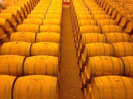 Barrels, Golden, Whiskey, Wood, Container, Wine