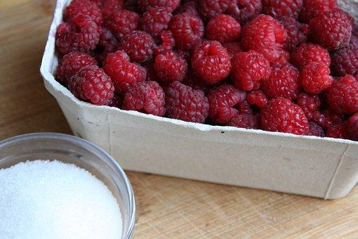 Raspberries, Fruit, Preparations, Red, Eating, Jam