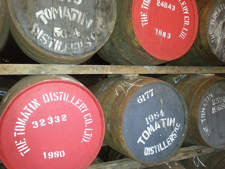Whisky, Whiskey, Stock, Barrels, Scotland