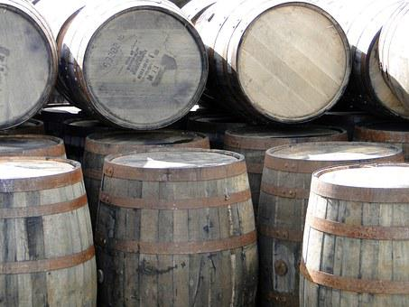 Whiskey Barrels, Wooden Barrels, Whisky, Islay