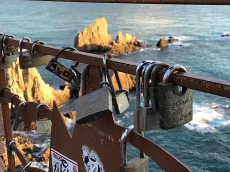 Padlock, Cabo De Gata, Almeria, Love