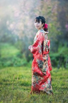 Asia, Seductive, Background, Flower, Ceremony