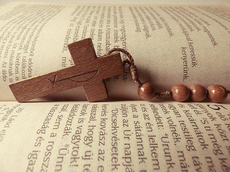 Bible, Cross, Book, Rosary, Reader, Christian