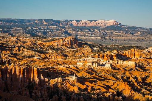 Dusk, Bryce Canyon, Utah, Canyon, Bryce, Park, National