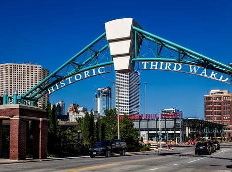 Milwaukee, Wisconsin, City, Urban, Buildings, Downtown