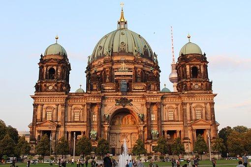 Berlin, Berlin Cathedral, City, Berlin Center, Capital