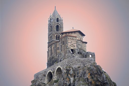 Church, Fortified, Citadel, France, Architecture
