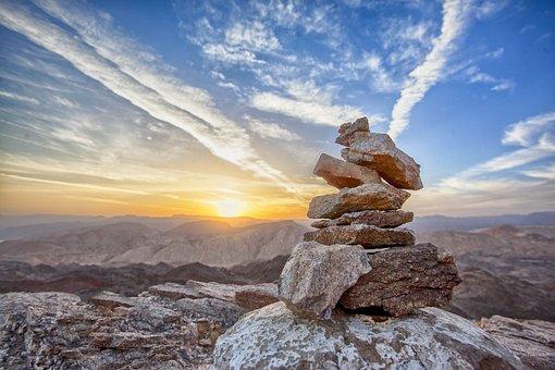 Sunset, Mount, Top, Landscape, Mountain, Travel