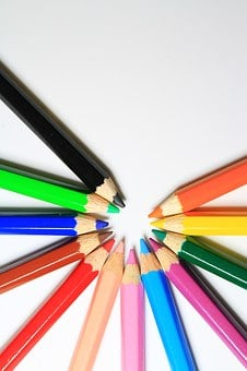 Colorful, Highlight, Shadow, Color Pencil, Design