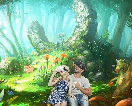 Poster, Fantasy, Cartoon, Family, Virtual Reality