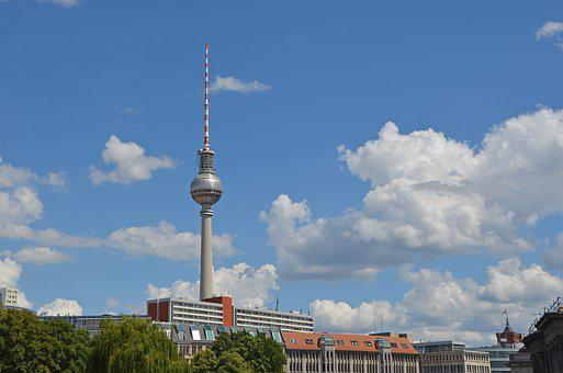 Tv Tower, Berlin, Places Of Interest, Alexanderplatz