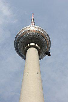 Tv Tower, Berlin, Capital, Germany, Places Of Interest
