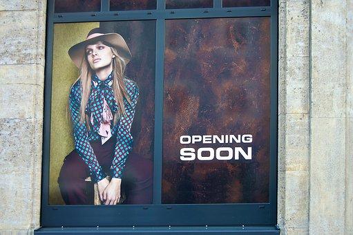 Window, Poster, Announcement, Fashion, Design