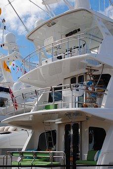 Yacht, Yacht Exterior, Decks, Sport Fishing, Fishing