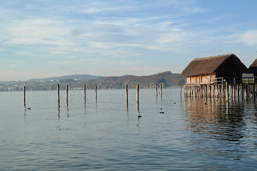 Stilt Houses, Stilt Buildings, Homes, Wooden Dwellings