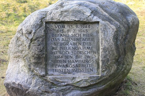 Memorial Plaque, Persecution Of Jews