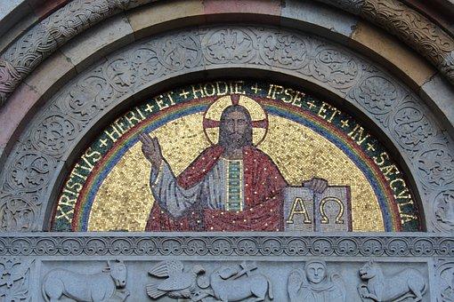 Mosaic, Jesus, Christ, Religion, Christianity