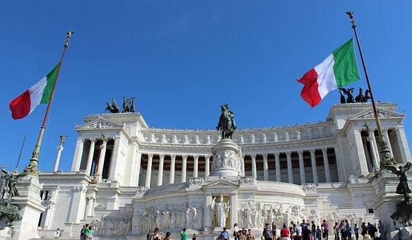 Monumento Vittorio Emanuele Ii, Italy, Rome, Monument